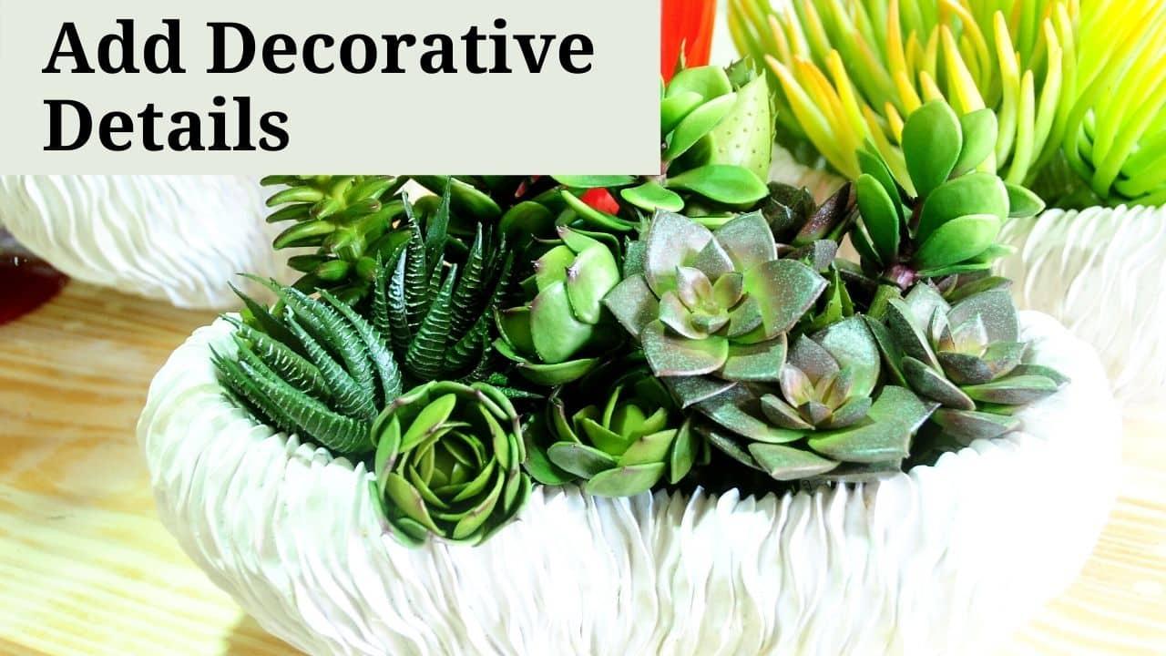 Add Decorative Details