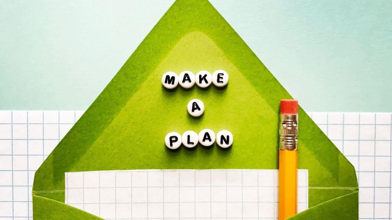 make a plan of flower bed preparation