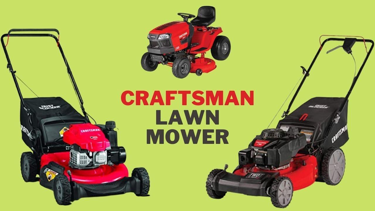 best craftsman lawn mower